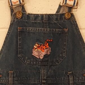 Disney's Tigger Overall's with Pooh Button's
